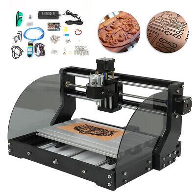 Mini Diy 3 Axis Cnc Router Kit 3018 Laser Engraver Carver Machine Grbl Er11