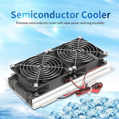 Semiconductor Thermoelectric Cooler Peltier Refrigeration Water Cooling Device