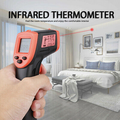 Temperature Temp Meter Gun Non-contact Digital Laser Infrared Thermometer Ir