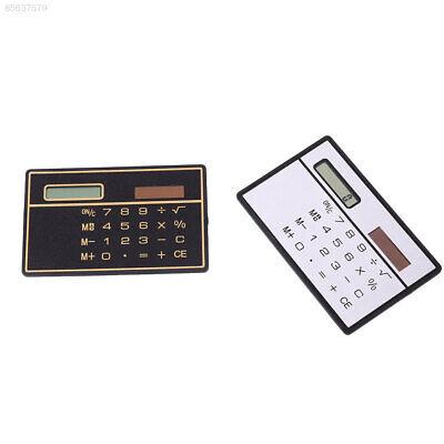 6352 Pocket Convenient Mini Small 8 Bits Calculator Super Thin Solar Panel Energ