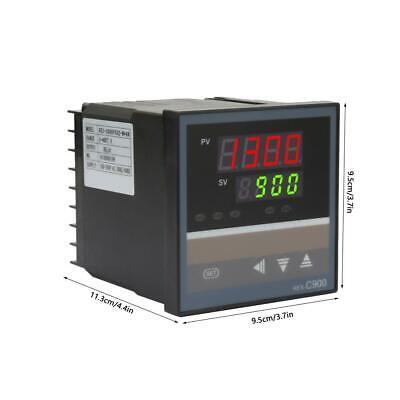 Rex-c900 Digital Alarm Pid Temperature Controller Machine 01300 Ac110-240v Us