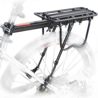 Motorcycle Luggage Carriers - Bicycle Mountain Bike Rear Rack Seat Post Mount Pannier Luggage Carrier Up 30KG
