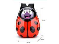 EGG SHAPED KIDS CHILDREN'S CUTE ANIMAL BACKPACK-Ladybird