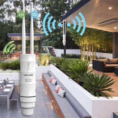 AC600 Wireless Outdoor Repeater/AP & Wifi Signal Boosters & Ranger Extenders EU