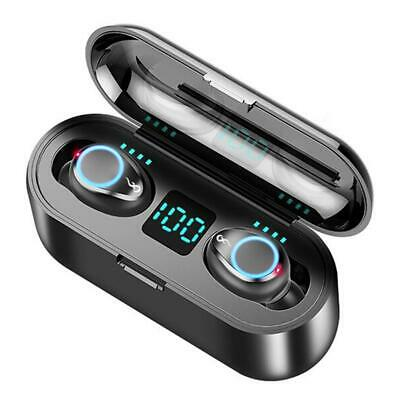 Bluetooth Headset Wireless Earbuds Noise Cancelling Earphones in-Ear Headphones