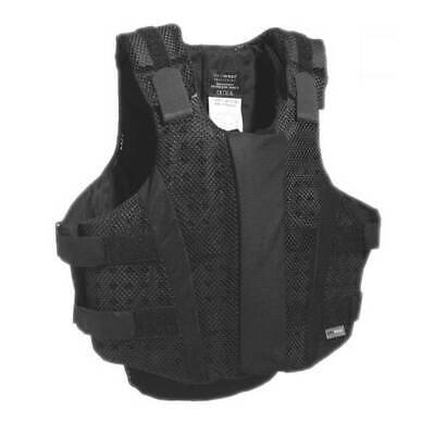 Airowear Airmesh Junior Vest - BLACKT2SLIMSHORT