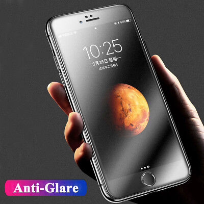 5D Curved Matte Film For iPhone XS Max Temper Glass Screen Protector for 7 8