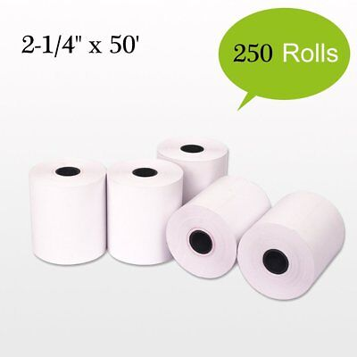 250 Roll 2-14x50 Terminal Receipt Thermal Paper Pos Cash Register Credit Card