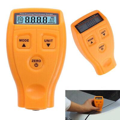 Gm200 Lcd Digital Car Paint Coat Thickness Probe Tester Gauge Meter Measure Tool