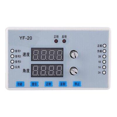 Digital Display Stepper Motor Speed Controller Governor Driver Control Dc 7-30v.