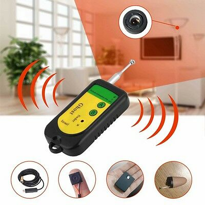 (New Wireless Detector Anti-Spy Signal RF Hidden Camera GSM Device Finder PO)