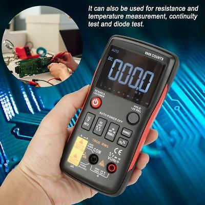 Aneng Q1 True-rms Digital Multimeter Button 9999 Counts W Analog Bar Graph New
