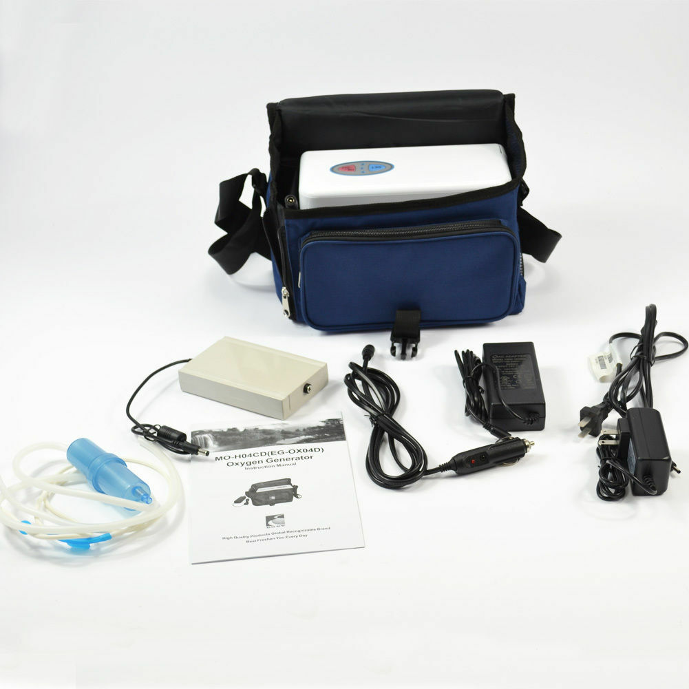 PORTABLE OXYGEN CONCENTRATOR GENERATOR WITH BATTERY/ HOME ...