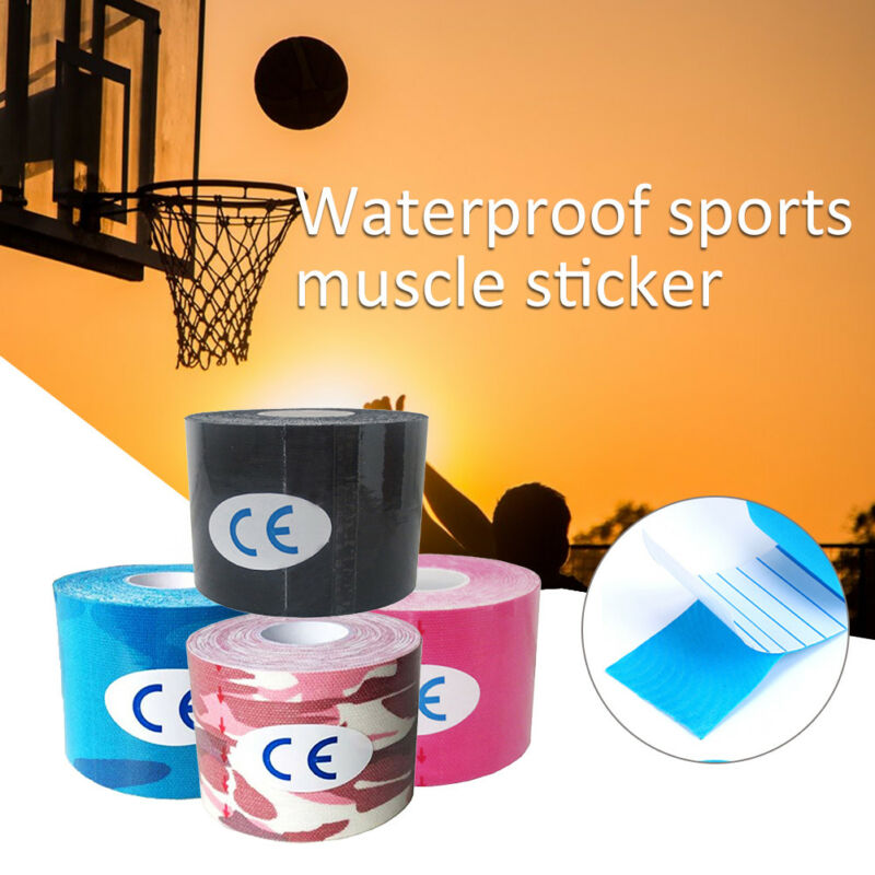 1 Roll Kinesiology Muscle Care Fitness Athletic Safety Sport Health Tape
