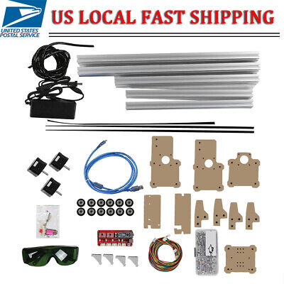 Desktop Diy Laser Machine Printer Kit Cnc Printer Without Laser Head 110-240v