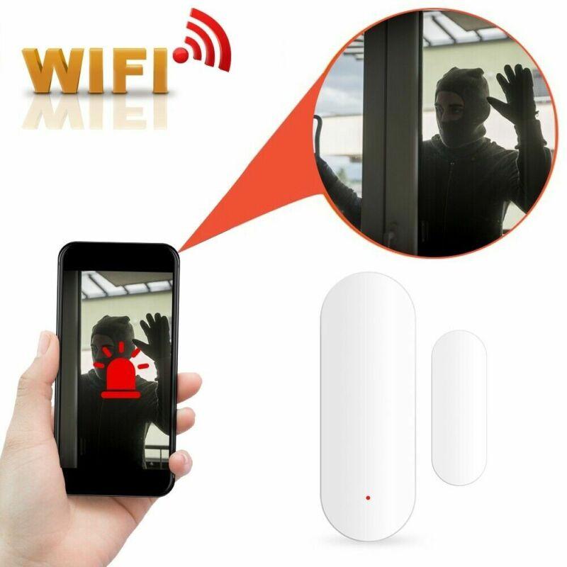WiFi Door Window Sensor Detector Security Alarm for Google H