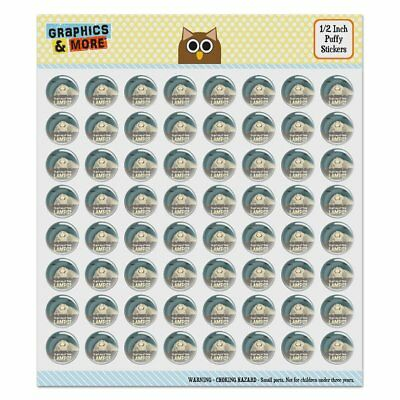 Moth Lamp Meme Puffy Bubble Dome Scrapbooking Crafting Sticker Set