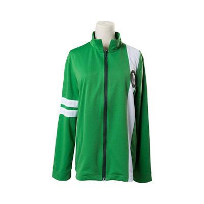 Ben 10 Alien Force Ultimate Omnitrix Kid's Green Jacket Benjamin Cosplay Costume