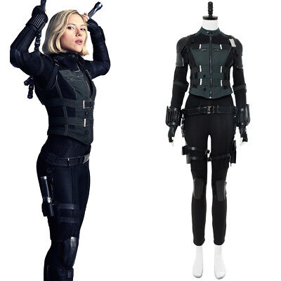 Avengers 3 Infinity Wars Black Widow Natasha Cosplay - Black Widow Avengers Outfit