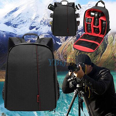 2017 Waterproof DSLR Camera Backpack Shoulder Bag Case For Canon For Nikon US