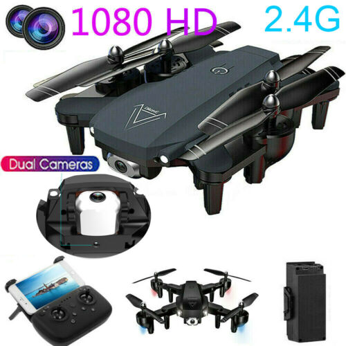 Drone X Pro 2.4G Foldable Quadcopter Drone 4K HD Dual Camera WiFi FPV 3D