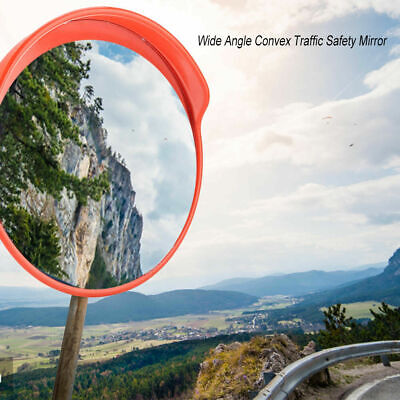 12 Outdoor Road Traffic Convex Mirror Wide Angle Driveway Safety Security