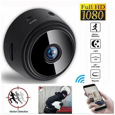 A9 Wifi 1080P Full HD Night Vision Wireless Network Mini IP Camera Recorder ()