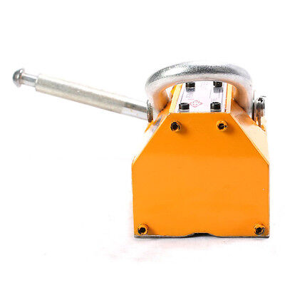 1000 Kg Steel Magnetic Lifter Heavy Duty Crane Hoist Lifting Magnet 2200lb Top