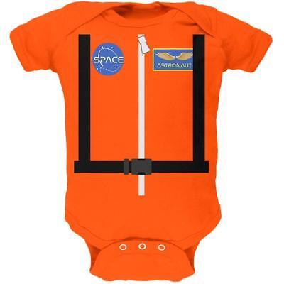 Halloween Astronaut Costume Orange Escape Suit Soft Baby One Piece - Baby Astronaut Halloween Costume