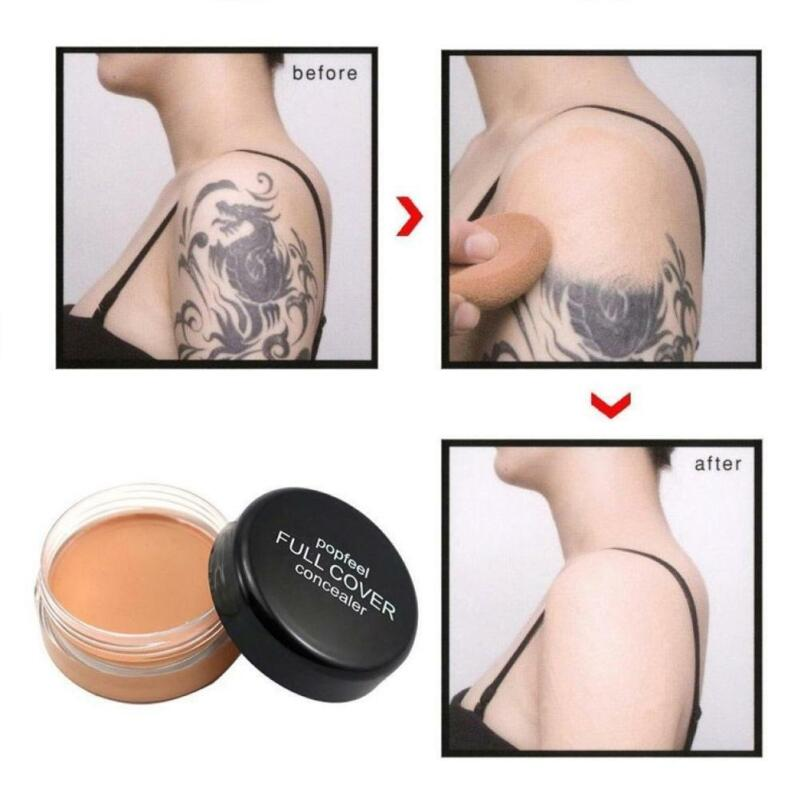 Full Cover Concealer Hide Blemish Creamy Make Up Face Lip Eye Foundation New