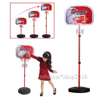 80-165CM Kinder Mini Basketballkorb mit ständer Basketballständer Basketballnetz