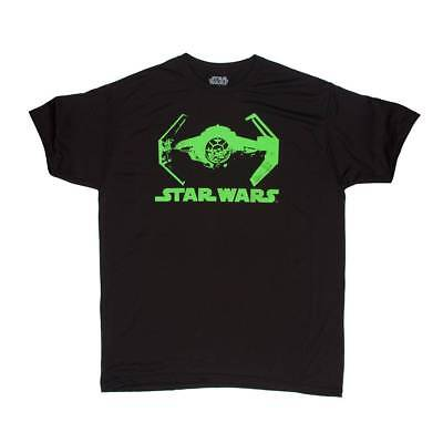 Glow In The Dark Ties (Star Wars Tie Fighter Glow-In-The-Dark Short-Sleeve T-Shirt -)