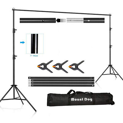 Photo Video Studio Photography Background Backdrop Support System Stand Kit Background Backdrop Support System