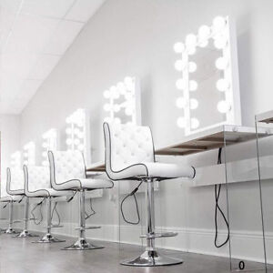 Vanity mirror with lights ebay white hollywood makeup vanity mirror with light dimmer stage beauty mirror usb aloadofball Gallery