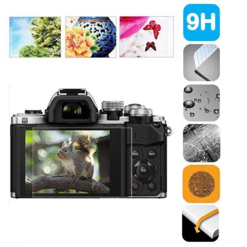 9H HD Tempered Glass Film Camera LCD Screen Cover for Olympus EM5II/EM10II