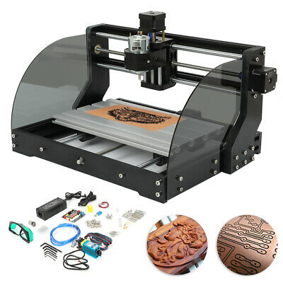 Cnc 3018-mx3 Machine Router 3 Axis Engraving Pcb Wood Diy Mill500mw Laser Head