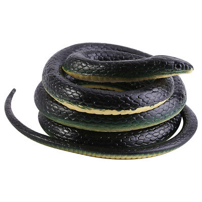 Simulation Gummi Fake Snake Party Halloween Witz Streich Prop Lustige Spielzeuge