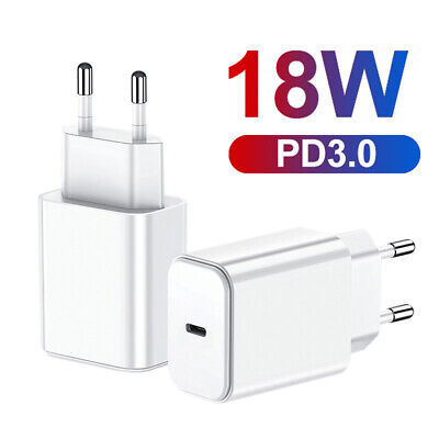 Home Travel PD 18W Quick Charging Type-C Wall Charger Adapter EU/US/UK Plug Well Cell Phone Accessories
