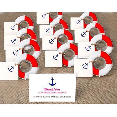 Nautical Wedding Favors (50x Lifesaver Bottle Opener Nautical Theme Baby Shower Souvenirs Wedding)