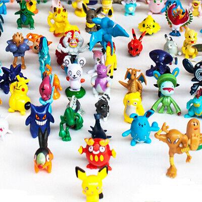 24  Monster Stueck Verschiedene Pokemon Go Figuren Großhandel Spielzeug Pokemo