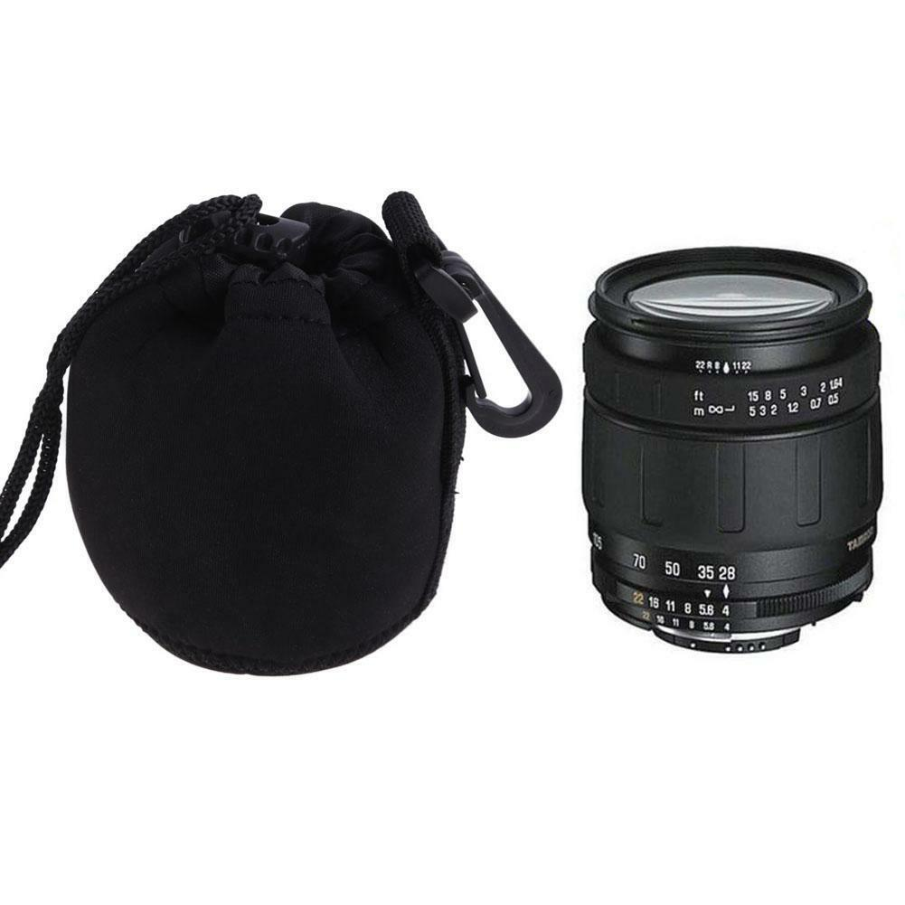 US Water resistant Soft Neoprene Camera Lens Pouch Bag Backp