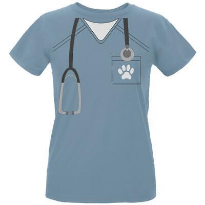 Halloween Vet Veterinarian Scrubs Costume Womens Organic T Shirt