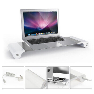 PC Monitor IMAC Stand Charger 4 USB Charging Interface Port Laptop Desk Mount
