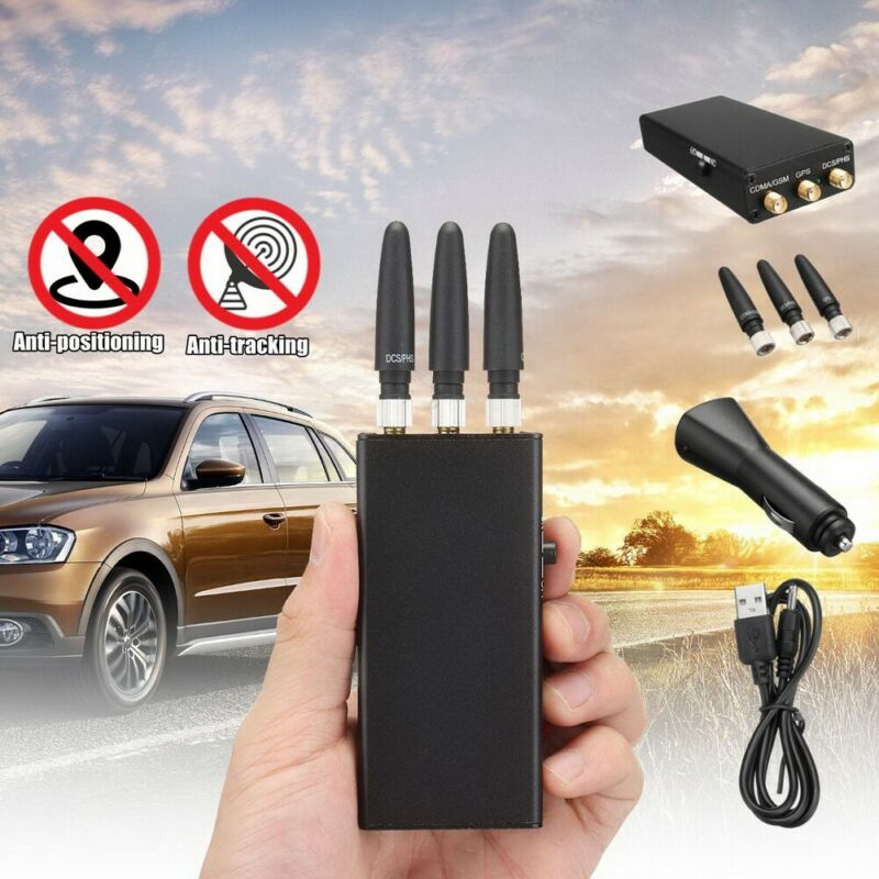Car GPS Signal Interference Blocker Anti Tracker No Tracking Stalking Case E