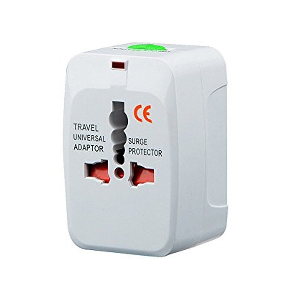 Travel UK to EU Euro Plug AC Power Charger Adapter Converter Socket hcuk