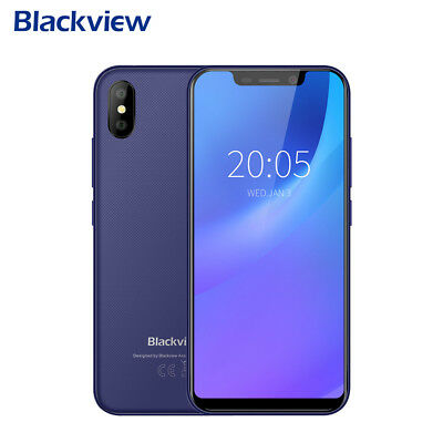 Blackview A30 Smartphone 5.5'' Android 2GB+16GB Full Screen 3G Handy 8MP+8MP