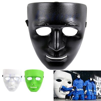 For Hip Hop Dance/Opera Plain Mask Costume Party Dance Crew Full Face Plastic - Costumes For Hip Hop