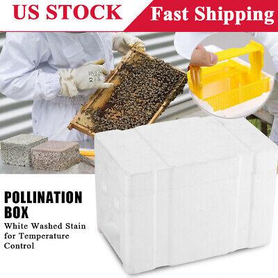 Foam Frame Harvest Bee Hive Beekeeping King Box Pollination Box Garden Tool New