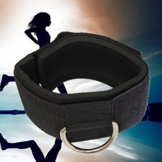 Thigh Leg Pulley Weight Lifting Ankle Strap D-ring Multi Gym Cable Attachment H