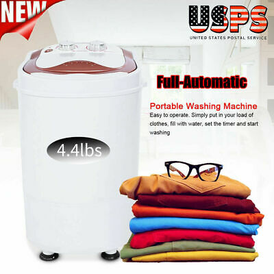 Portable Mini Electric Washing Machine Full-Automatic Laundr